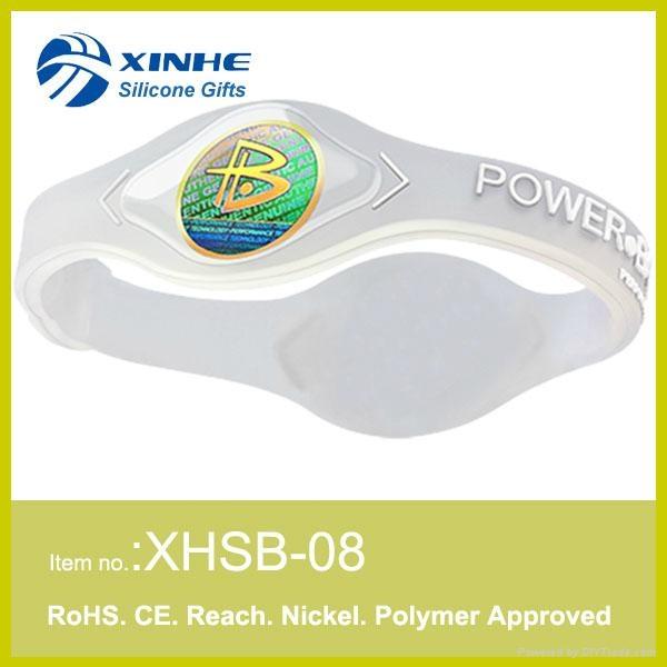 silicone power bracelet 5