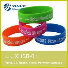 2015 Custom silicon wristband
