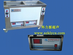 線路板兩槽式超聲波清洗機