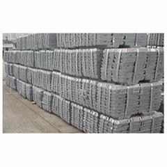 zinc ingots