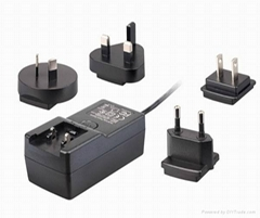High quality power adapter for led light,tablet,cctv