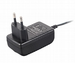 15w wall mount  power adapter for led light,tablet,cctv