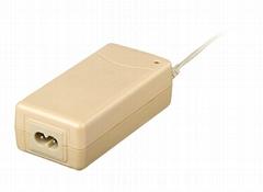 110V/220V AC input dc wall mount adapter 12V 4A output 48W