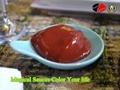 Bright Bright Red Tomato Ketchup -