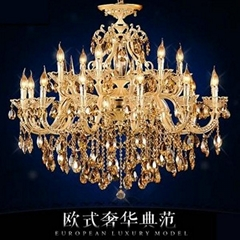 2014 New Modern Crystal Chandelier Light Fixture Crystal Pendant Ceiling Lamp