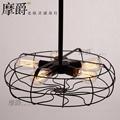 Rh Loft Vintage American Personality Industrial Style Electric Fan Ceiling Light 1