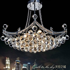 Shipping Free 2014 Modern Lustres Crystal Chandelier Lustre De Cristal Lamp for