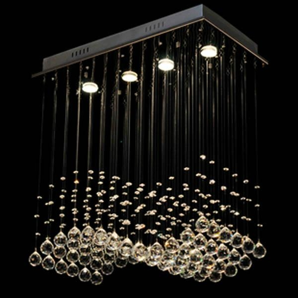 Most Popular Contemporary Crystal Dining Ceiling Light Lamp Free Shipping Crysta 1