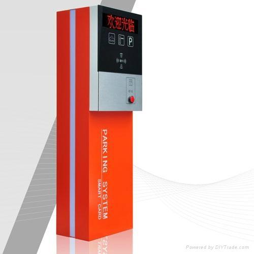 鄭州標準停車場管理系統票箱 2