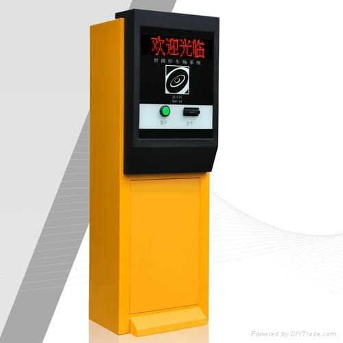 鄭州標準停車場管理系統票箱 3