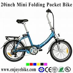 20inch folding mini electric bike bicycle motor 8fun