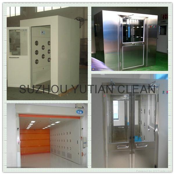 All Full Set Stainless Steel Air Shower 5