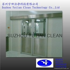 Automatic Sliding Door Cargo Air Shower