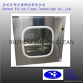 Stainless steel clean room pass through