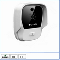 K900 wifi doorbell Android & iOS remote video talk digital door peephole
