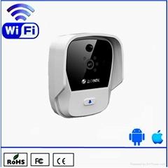 Video and audio doorbell K900 wifi door bell works with phone and tablet