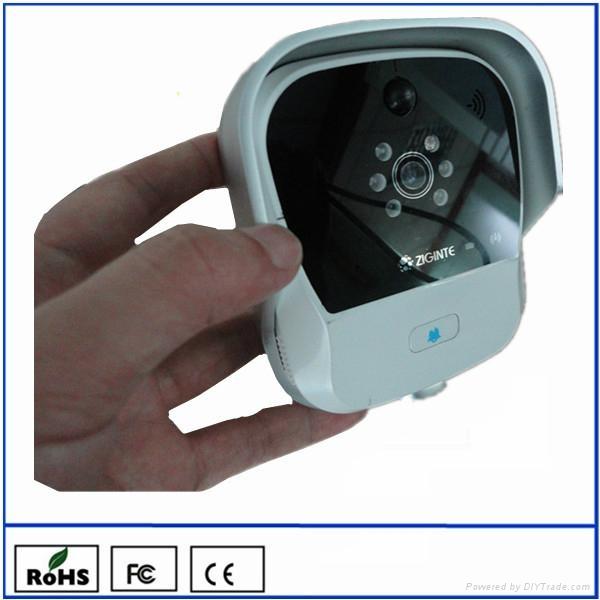 ZIGINTE K900 WiFi Doorbell - Answer Door from Smartphone 1