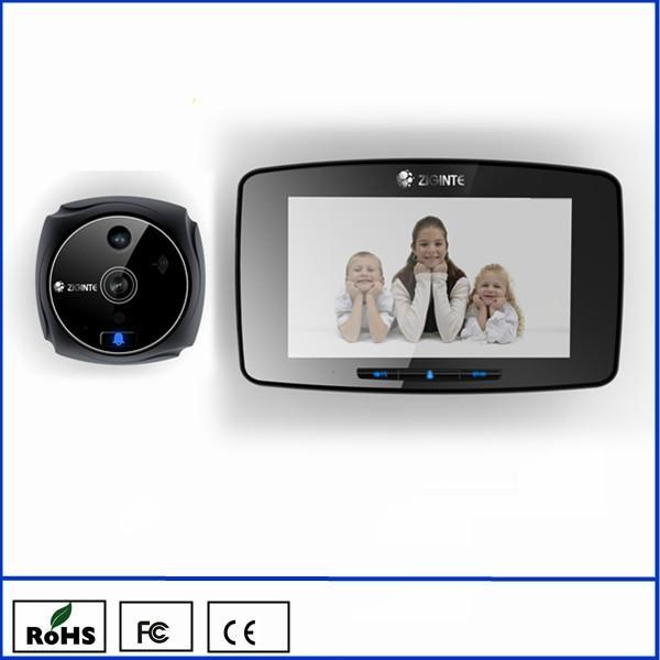k800 5inch GSM smart door viewer with motion sensor 1