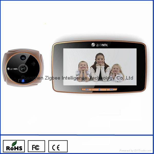 k800 smart video doorbell home smart system gsm door viewer 1