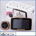 k800 factory price gsm peephole door viewer, pir detection