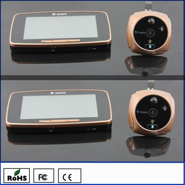 K800 GSM Wireless Intercoms Door Viewer Peephole 1