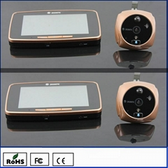 K800 GSM Wireless Intercoms Door Viewer Peephole