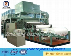 full production line waste paper recycling kitchen paper towel making machine