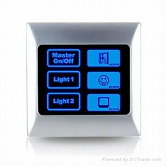 Automatic light switch timer for PC or metal frame