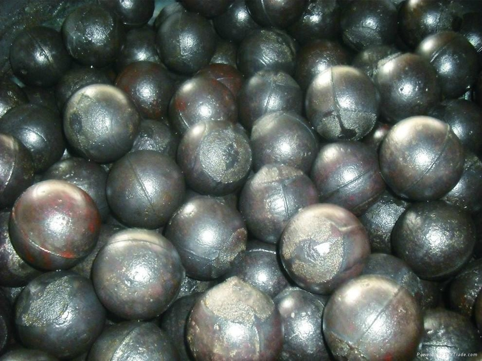 High Chrome Alloy Casting Steel Ball with HRC:58-64, 10-18%Cr 1