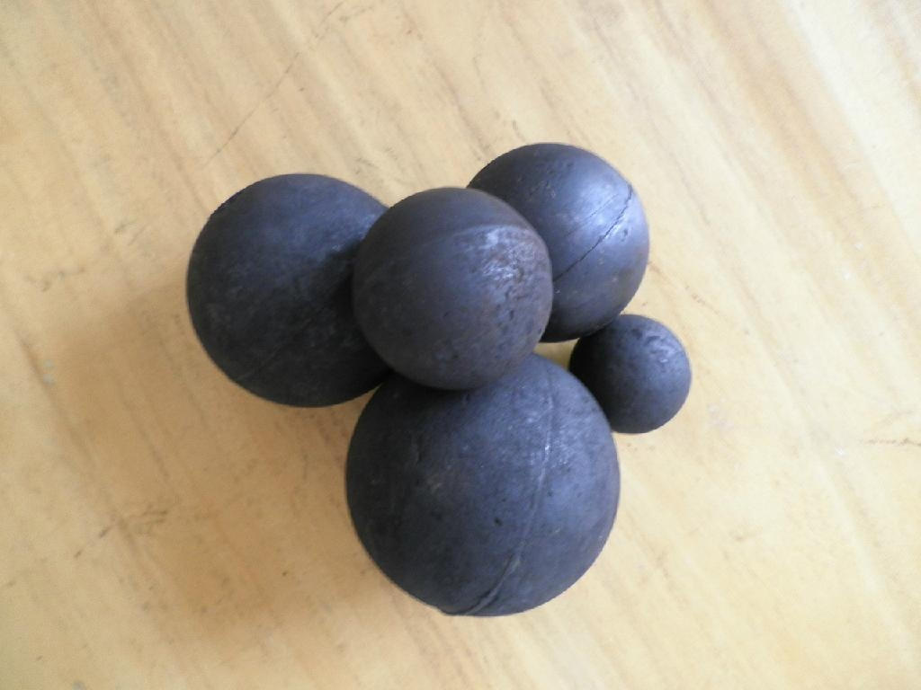High Chrome Alloy Casting Steel Ball with HRC:58-64, 10-18%Cr 4