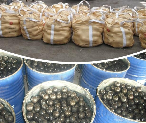 Low Price 20-150mm ZD-manganese grinding steel ball 2