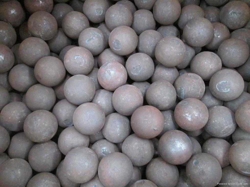 Low Price 20-150mm ZD-manganese grinding steel ball 1