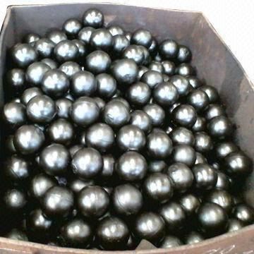 high chrome ball with 58-62 HRC 1