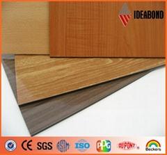 Aluminium composite pane