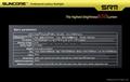 SUNCORE SR11 Cree XM-L2 U2 LED flashlight 650lumen