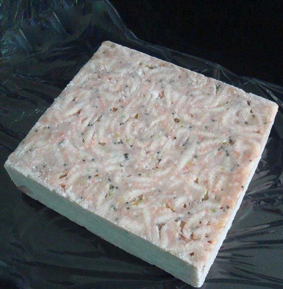ice krill, frozen krill 3