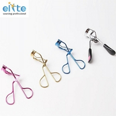 Mini makeup beauty tools, promotional carbon steel eyelash curler supplie