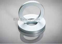 Industry permanet rare earth strong high quality motor round disc cylinder ring