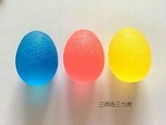 供應TPR雞蛋形握力器高彈性創意體育健身
