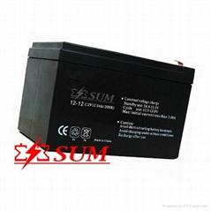 Lead acid battery 12V 12Ah for UPS use