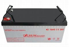 UPS use Lead acid battery 12V 200Ah long life battery