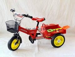 時尚舒適儿童三輪車 安全可愛