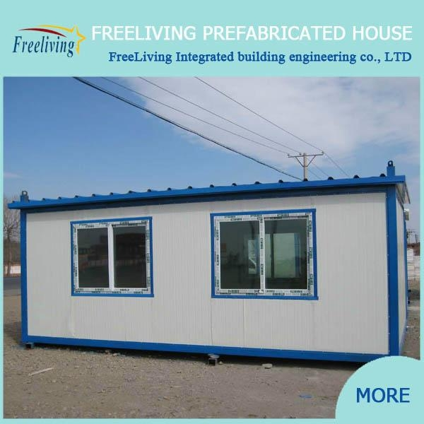 Low Cost Flat Pack Container House Modular Office