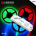 3 channels 5A dimmable 180w 360w LED rgb light DALI signal dimming driver 1