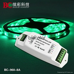 BC-960-8A 3CH RGB led power repeater frequency amplifier high quality