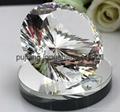 machine made more facet crystal diamond