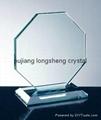 glass award jade glass award