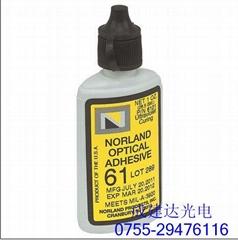 美國原裝進口紫外線UV紫外光固化膠NOA61