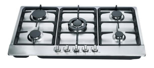 5 burners stainless steel built in gas stove & burners 1