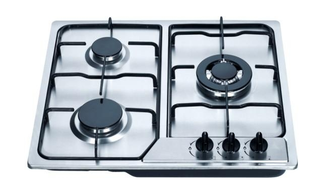 3 burners stainless steel gas stove 1